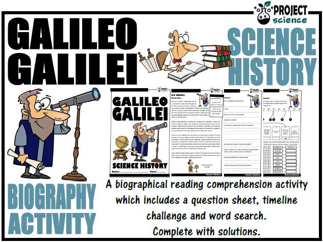 Galileo Galilei Biography Activity