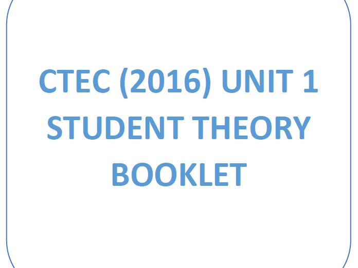 CTEC IT - Cambridge Technicals in IT (2016) - Unit 1: Fundamentals of IT Workbook