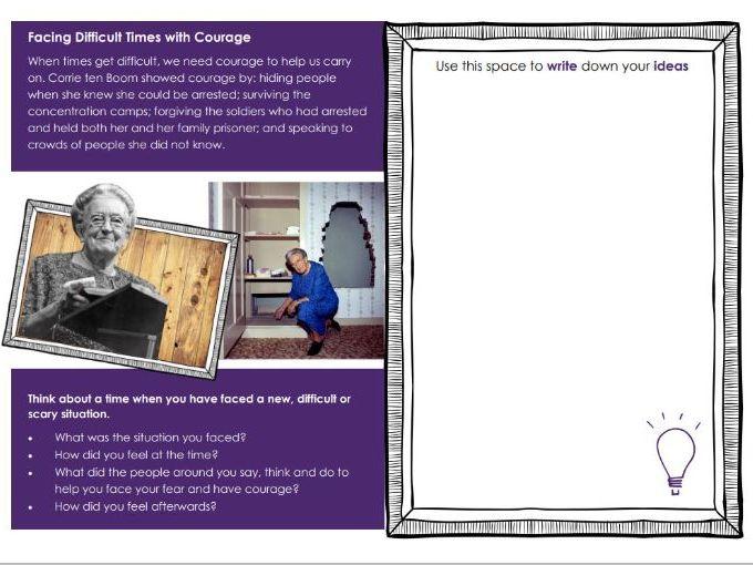 KS2 Courage - The Story of Corrie ten Boom