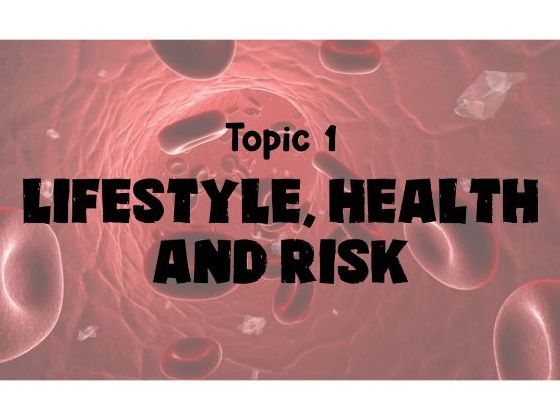 Edexcel A Level Biology - Topic 1: Lifestyle, Heath and Risk Revision Cards