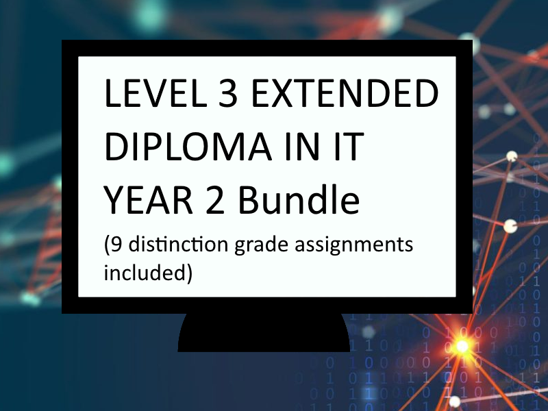 Level 3 Extended Diploma in IT Year 2 Bundle