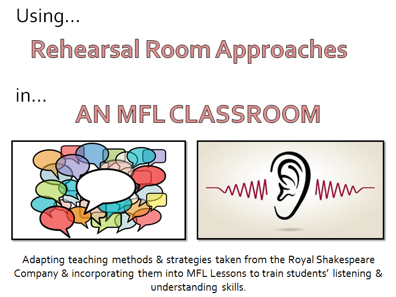 Using RSC Strategies within MFL Lessons