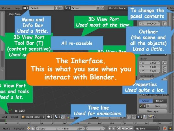 Blender 3D - (1-2) a FREE Introduction