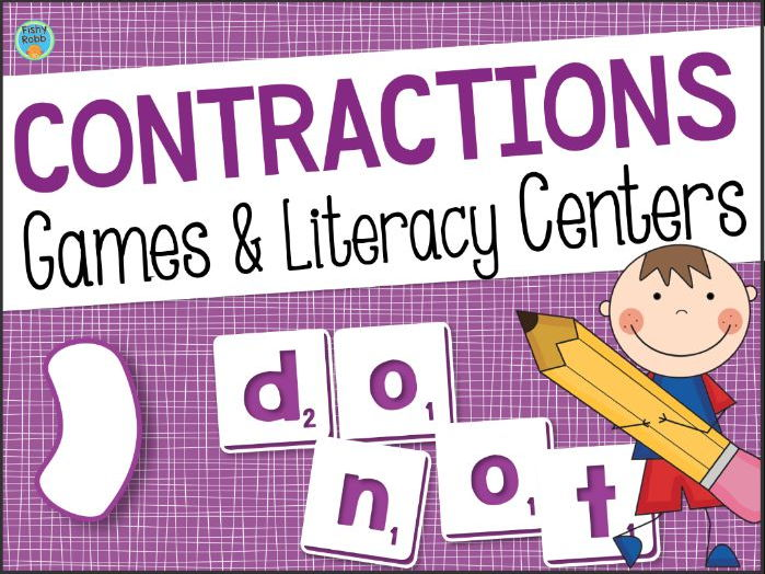 Contractions Games & Activities