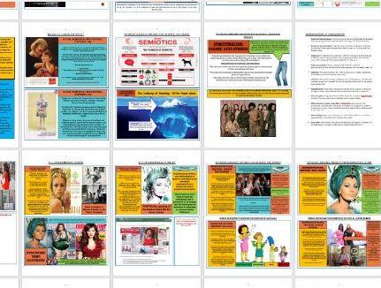 A2 EDUQAS MEDIA, COMP2 REVISION GUIDE (SEC B, ALT AND MAINSTREAM MAGAZINES (VOGUE AND THE BIG ISSUE)