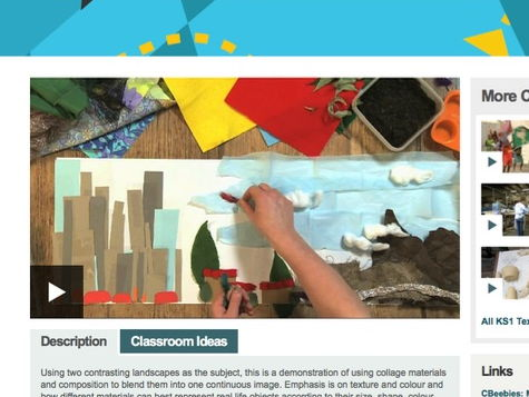 Our World Collage lesson plan