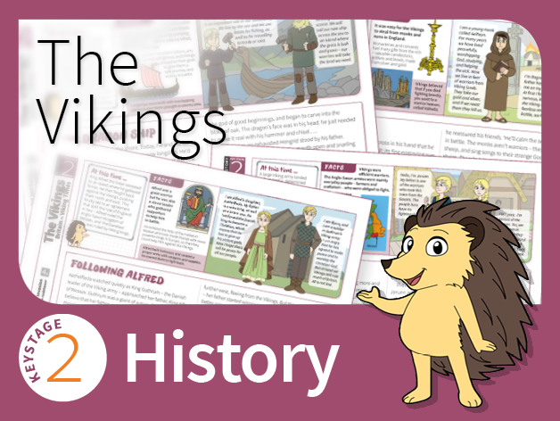 KS2 History - The Vikings (Research Pack)