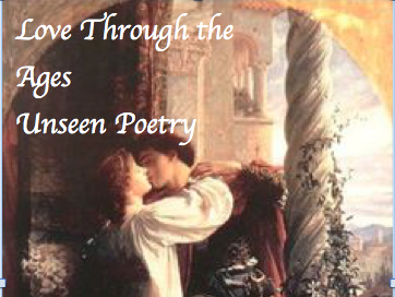Love Through the Ages unseen poetry AQA spec A