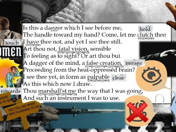 "Line by Line: Macbeth, Macbeth's ""Is this a dagger"" (2.1)"