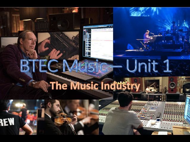 BTEC First Award in Music - Service Companies Flipped Learning Exam-Style Questions