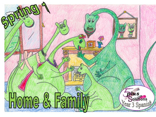 Primary Spanish WHOLE UNIT: Year 3 Spring 1 Home & Family