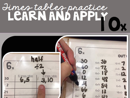 10 Times Table Packet