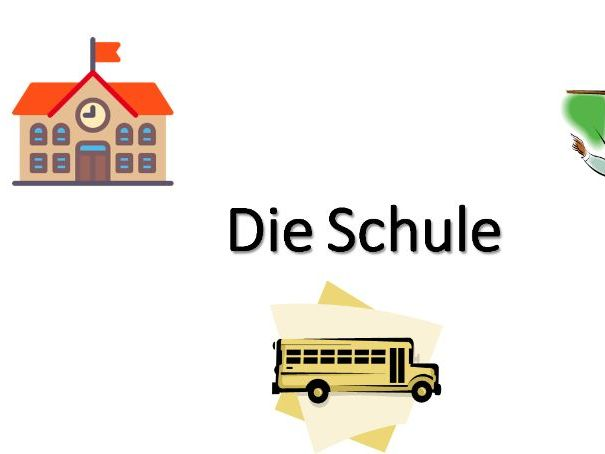 Die Schule - GCSE reading practise activities