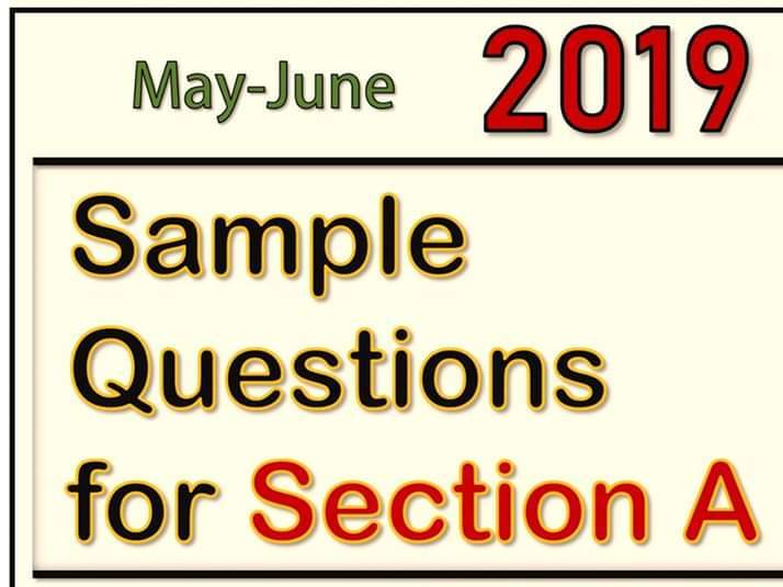Sample Questions and Solutions of Pre-Release Material May/June 2019 (Computer Science 2210/0478)