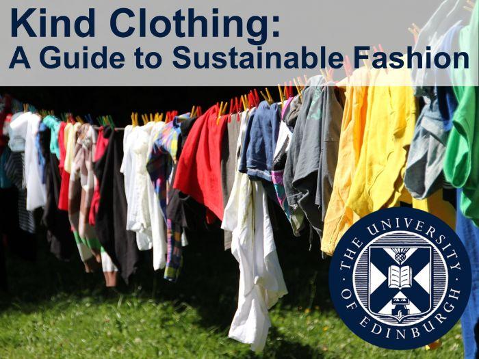 Kind Clothing: Sustainable Fashion (Interdisciplinary Learning)