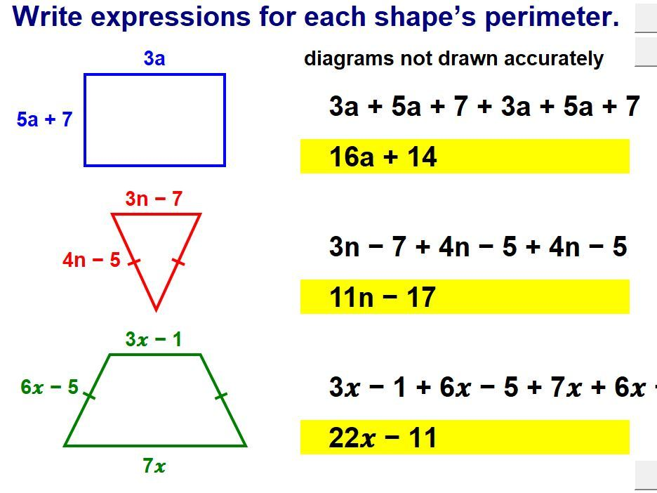 Algebraic Expressions (Higher)