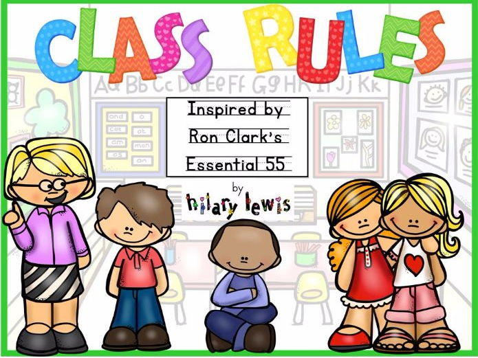 Class Rules - Posters - Activities Inspired by Ron Clark's Essential 55