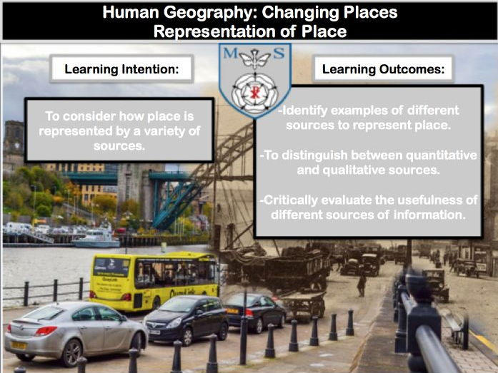 Changing Places Lesson 3- Representations of Place **NEW GEOGRAPHY AQA A-LEVEL**