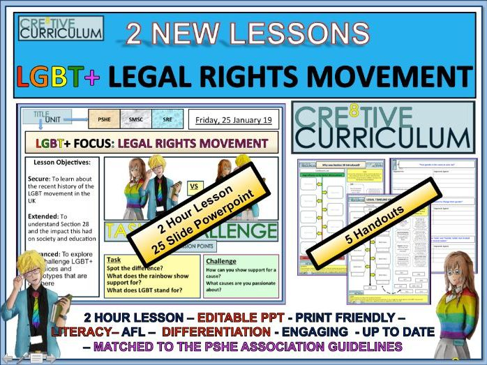LGBT Legal Rights Campaigning RSE/C8/LS/12