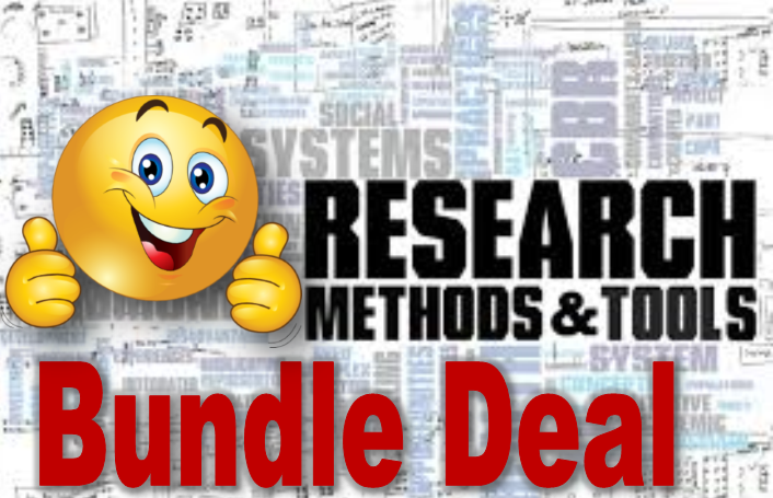 SPECIAL OFFER (Save 40%)  - Research Methods Complete Bundle