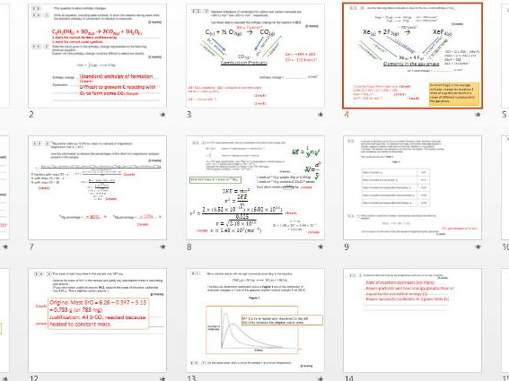 Aqa c31 periodic table revision competition by prhilton as chemistry ppq revision whole paper work through urtaz Gallery