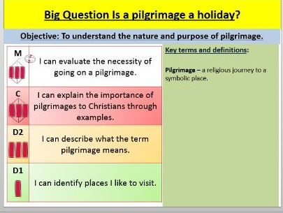 Pilgrimage Edexcel Gcse 9 1 Rs B Paper 1 Religion And Ethics