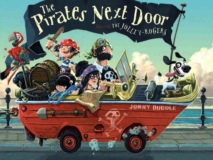 The Pirates Next Door -Understanding Features of a Diary Entry