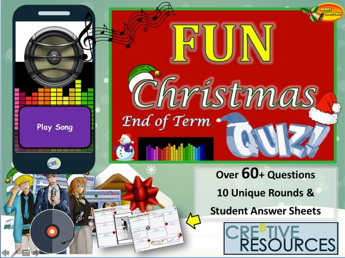 Fun Christmas Quiz 2019 - Christmas Music