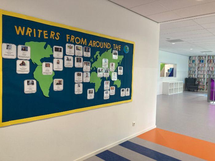 Writers From Around the World Display