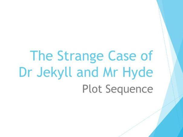 AQA Jekyll & Hyde:  Plot Sequence Activity