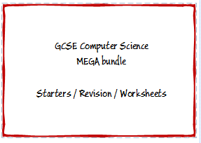 GCSE Computer Science Mega Bundle