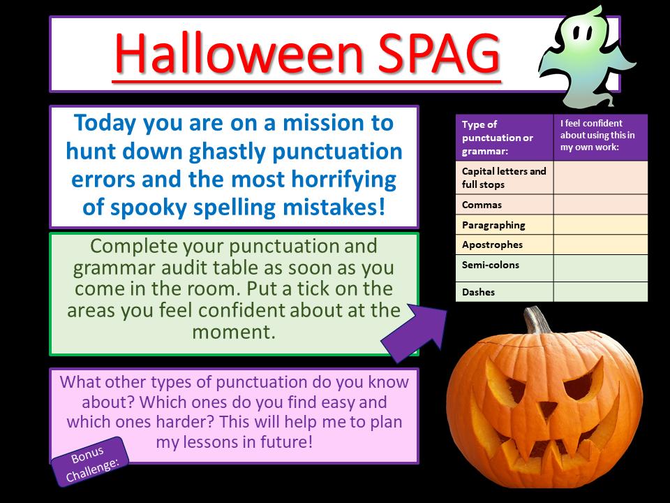 Halloween - Halloween Literacy