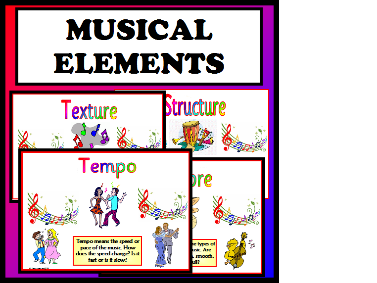 Musical Elements Music Teaching Resource KS1 KS2 Display Classroom