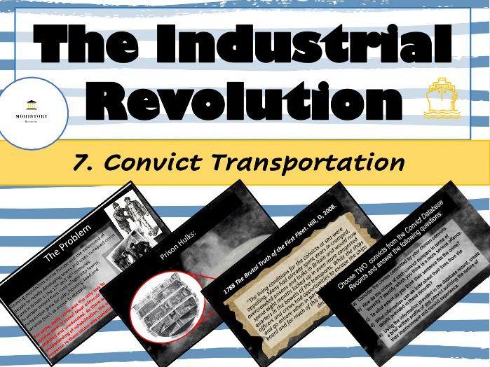 Industrial Revolution - 8. Convict transportation