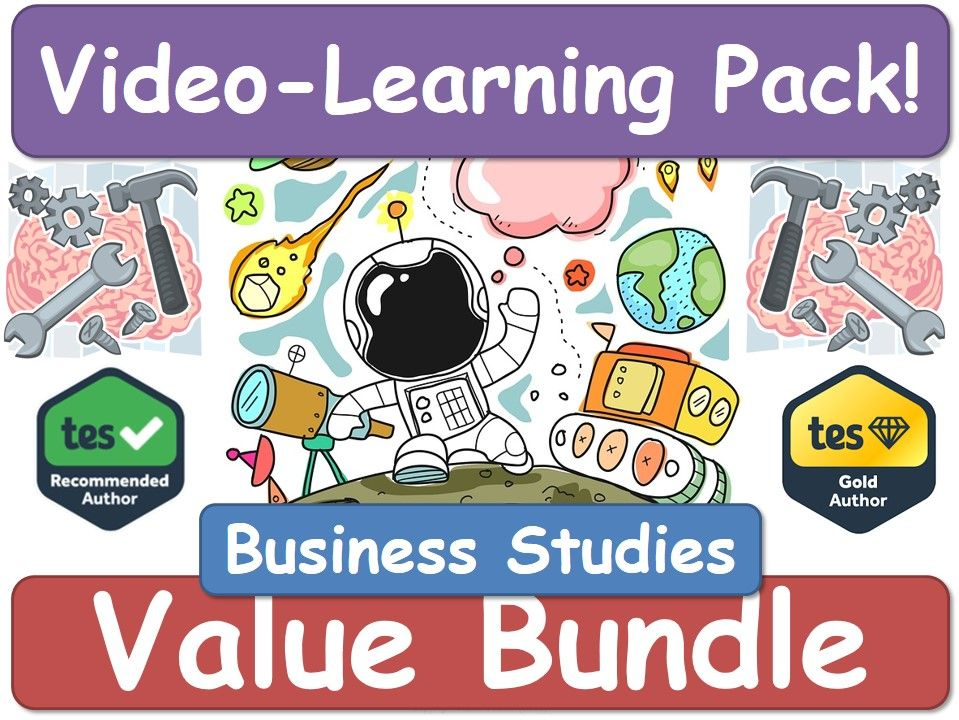 Business Studies [Video Learning Pack]