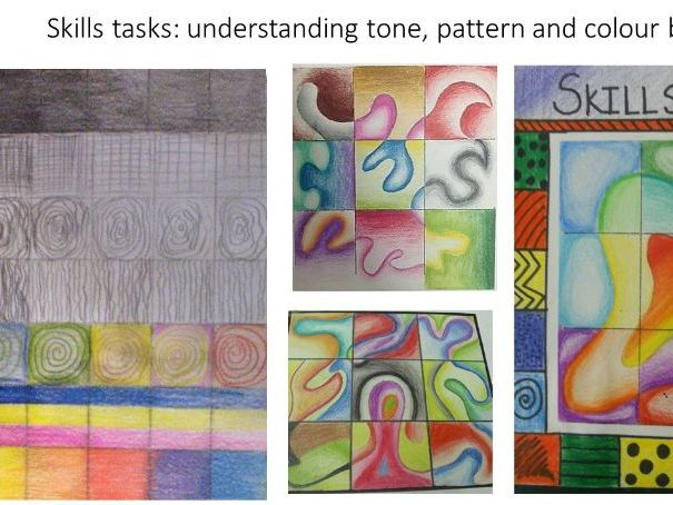 Skills Test art activity, suitable for home learning