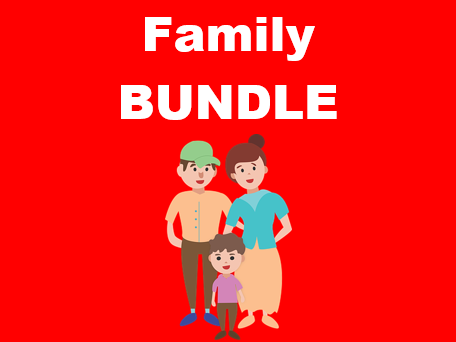 Family in English Bundle
