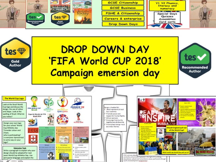 Fifa World Cup 2018 / 2022 - Drop Down Day or Human rights Unit of Work