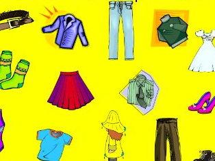 Clothes- Les vêtements
