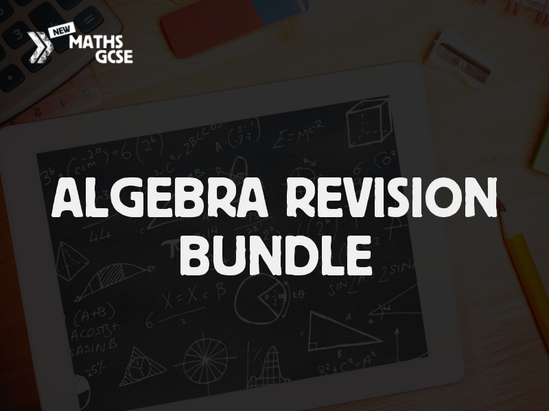 Algebra Revision Bundle