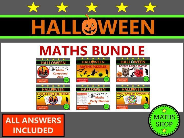 Halloween Maths and Bonfire Night Maths Worksheets