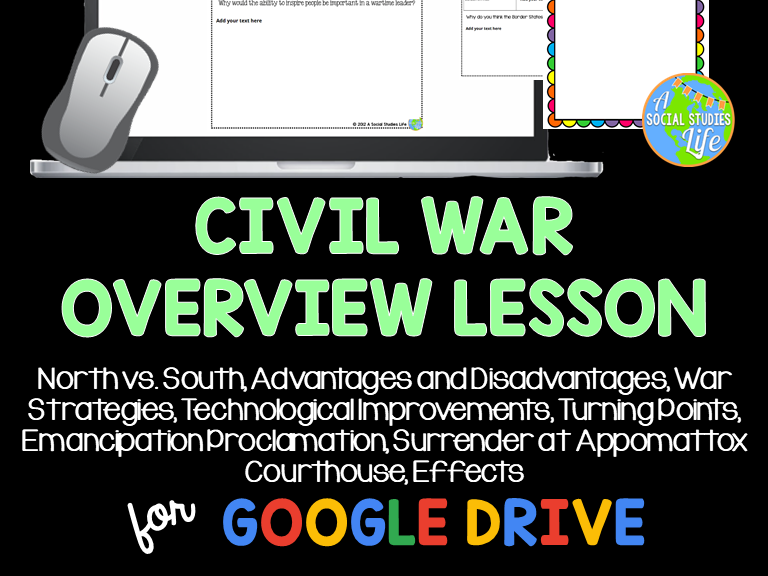 Civil War Overview Lesson