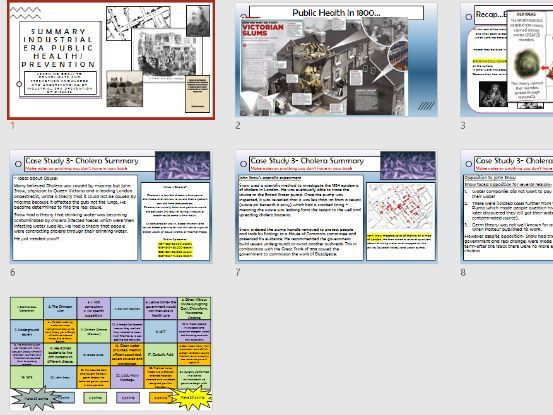 Edexcel GCSE History Medicine Through Time Industrial Era