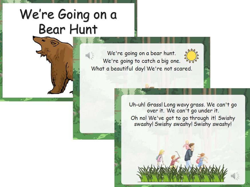 We're Going on a Bear Hunt (Audio-Visual Story Presentation)