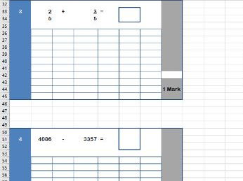 Year 4 Spring Arithmetic Paper