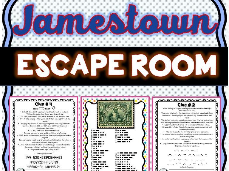 Jamestown Escape Room: U.S History