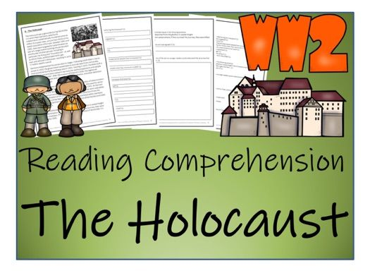 UKS2 History - The Holocaust Reading Comprehension Activity