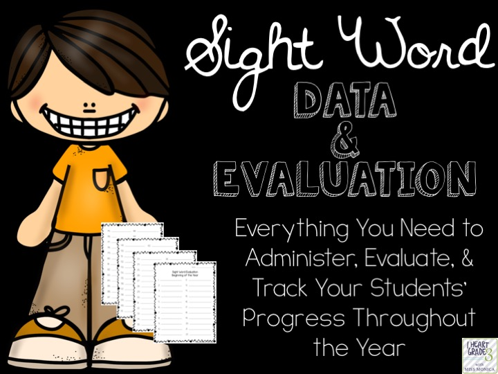 Sight Word Data and Evaluation