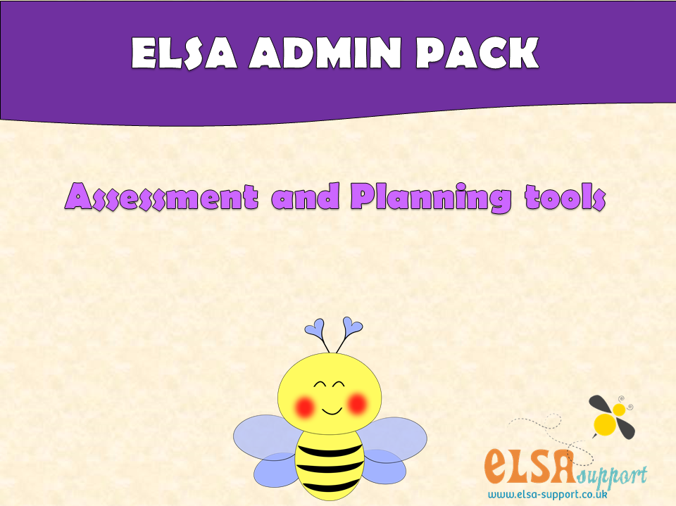 ELSA  SUPPORT ADMIN PACK - assessment, planning