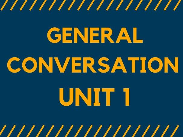 MODEL ANSWERS - GENERAL CONVERSATION. Unit 1 for GCSE SPANISH 1-9